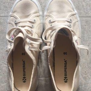 Ivory sneakers